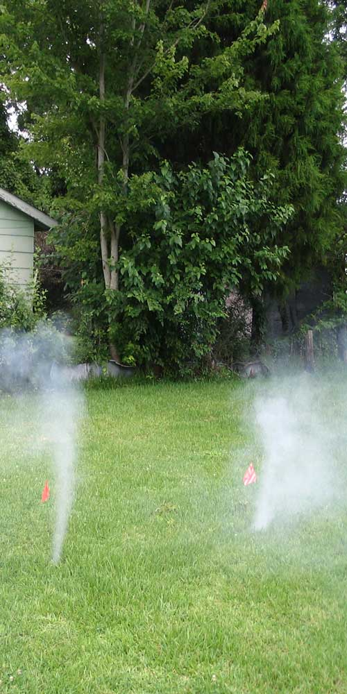 test fumee gazon