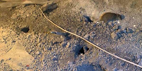 tunnel rat vide sanitaire